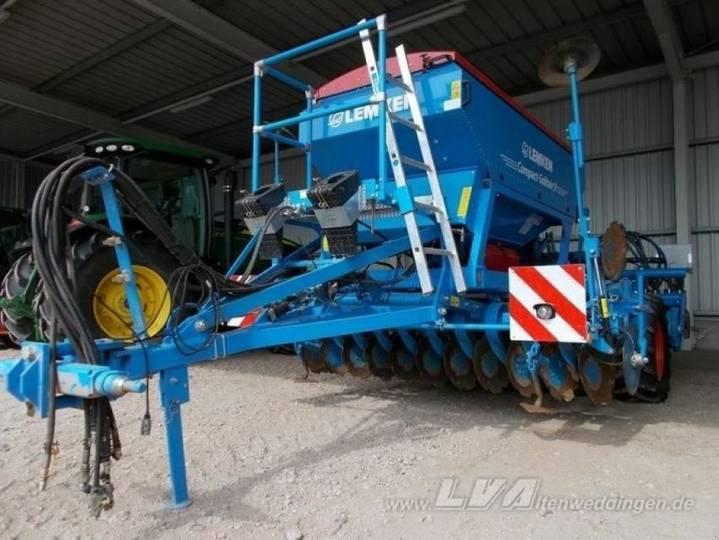 Lemken compact-solitair 9h 300 ds 125 - 2015