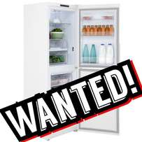 Looking for a fridge to buy.