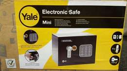 Brand new Yale mini electronic safes