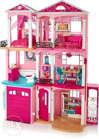 Barbie Dreamhouse with accessories and car