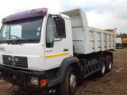 MAN M2000 10 cube tipper on bargain price