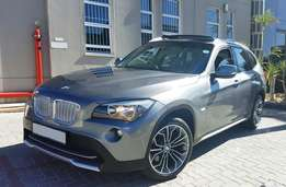 2012 BMW X1 X-Drive 2.8i Auto A/T with Full Panoramic Glass Sun Roof