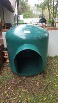 Size 5 Green Igloo Kennel