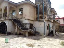 Building consist of three numbers of three and two bedroom at Ikotun