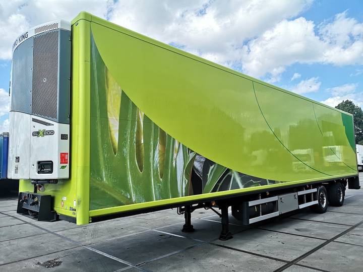 Burg 2-AXLE FRIGO | THERMO KING SLX200 | DHOLLANDIA 2500kg | 1... - 2006