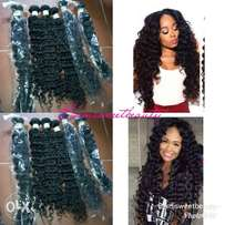 Deep wave human hair grade 9A