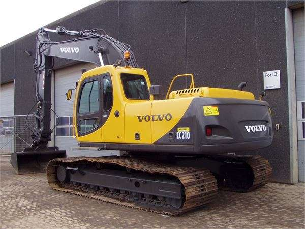 Volvo Ec210lc - 2001