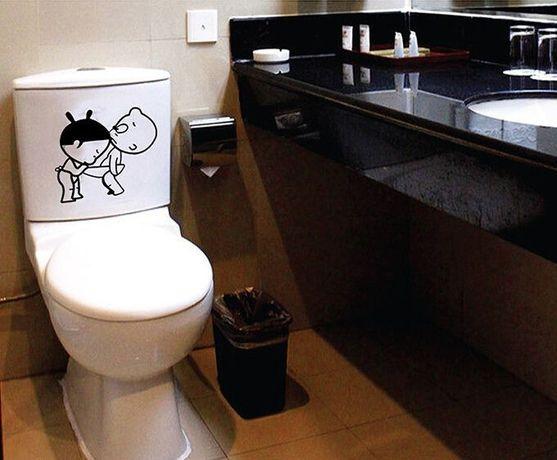 Naklejki Do łazienki Toalety Wc Deskę Sedes Ws 0133 łódź