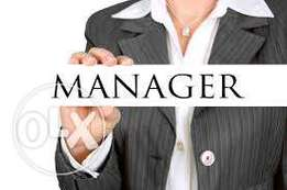 Company Manager Needed Urgently