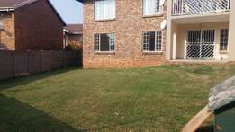 3 bed roomed Townhouse for rental in Highveld