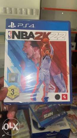 Ps4 Game NBA2K22 Available