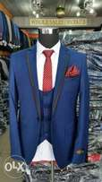 Classic Designer Suit-Royal blue