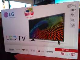 Original LG 32 inch boxed digital/satellite, ultra 4K HD, LED flat TV