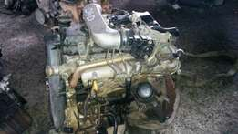 Toyota Hilux D4D 2007 model complete engine for sale 2KD