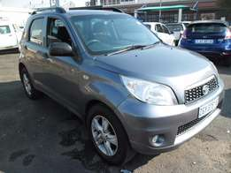 A Daihatsu Teiros , 2010 Model, 108000km, grey in color, 4-doors, fac