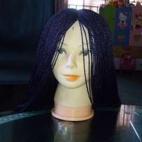 For Abuja latest braided wig design call...