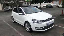 A Give away 2015 VW 1.2 Polo TSI Comfortline with only 50000km and FSH
