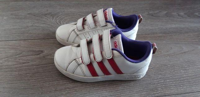 Buciki, buty neo ADIDAS 31 na rzepy dla dziewczynki, Wieluń