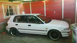Toyota conquest 160i leather interior mags