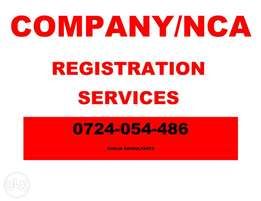 Company Registration ,NCA registration,YAGPO,Cr12, Company Profile