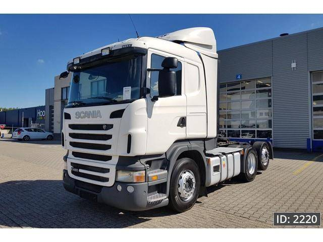 Scania R480 CR19, Euro 5, Intarder, ADR - 2011