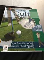 simply golf book and DVD