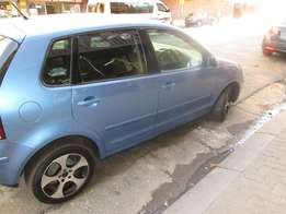 2006 VW POLO 1.6 85000 km price is R94000 blue in colour