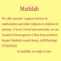 Mathlab, tutorials/support services at affordable rates