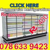 Binoni refrigeration repair and re gas on-site