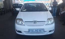 2004 toyota corolla 1.8 for sell R90000