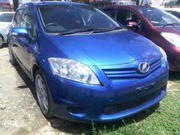 2010 Toyota Auris sports. Fully loaded Rally Blue