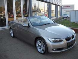 2008 BMW 3 SERIES 335i convertible exclusive auto 98000km R249950