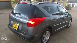 Peugeot 207 Station Wagon 2010 model new Import
