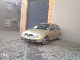 Polo playa1.8 R38000 start and go car is neat in and outside