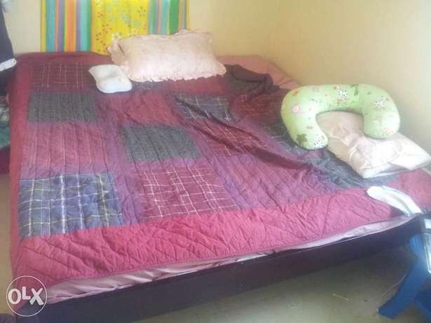 6 by 6 Box Bed ( 8 months old) for sale without mattress. Umoja - image 1