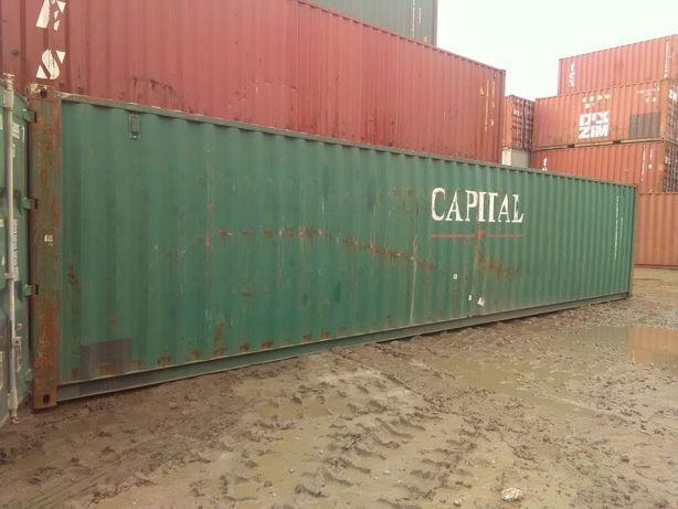 Inne rodzaje Kontener morski 40' - 12 metrowy - kontenery magazynowe używane SR18