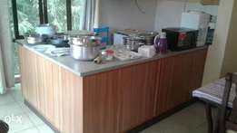Single and several Home stay rooms with a common kitchen and dining