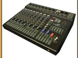 Hybrid Mixers Amp Powered 8ch