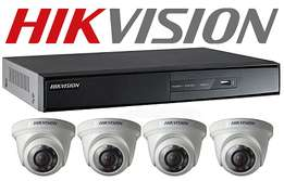 security cctv offer (4 cameras full package)