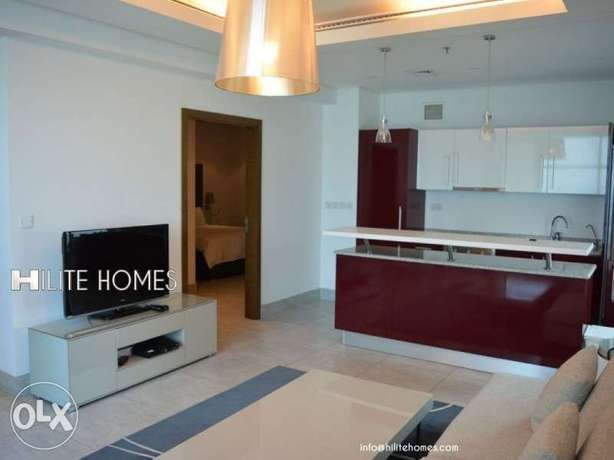 One bedroom Fully Furnished Apartment in Mangaf المنقف -  4