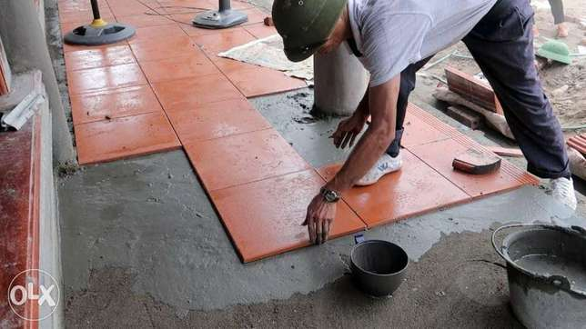 Tiles man available for contract and per day
