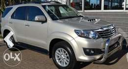 2010 Toyota Fortuner Diesel powered