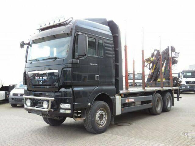 MAN TG X 33.540 6x4 Holztransporter Kurzholz Blatt/P - 2013