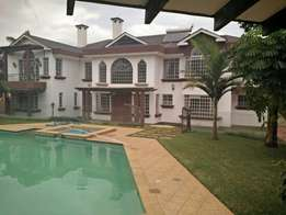 Nyari estate 5 bdrm double storey house: To let