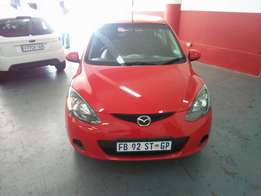 2011 Mazda 2 1.4 Active, Color Red, Price R87,000.
