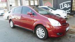 2007 model toyota verso 1.6,maroon,75 000km,for sale