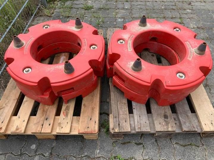 Fendt Radgewichte 4 X 300 Kg - 2013