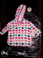 Hoodie for girls,age (9m).
