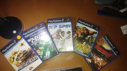 PS2 and psp games