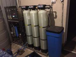 Water Treatment Equipments. (Bottled water business.)